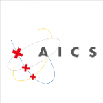 Logo van AICS op Untis Website