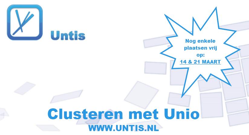 Clusteren met Unio